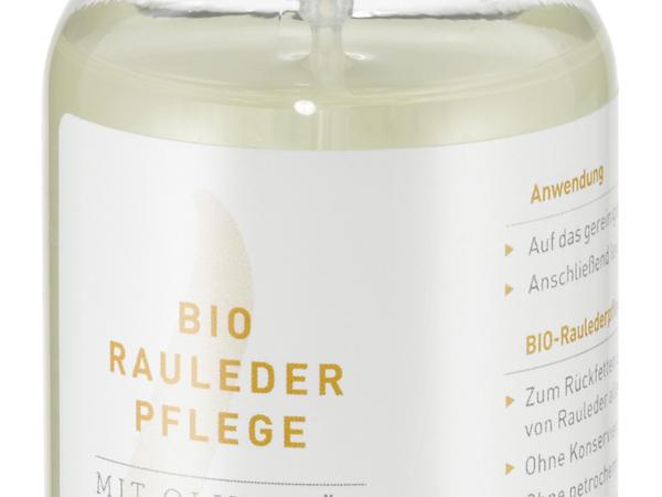Bio-Raulederpflege mit Olivenöl