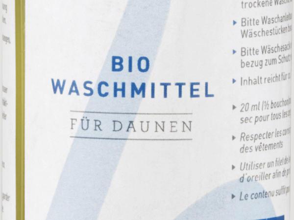 Bio-Waschmittel für Daunen