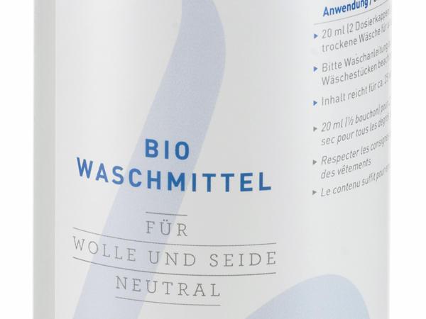 Bio-Waschmittel für Wolle und Seide