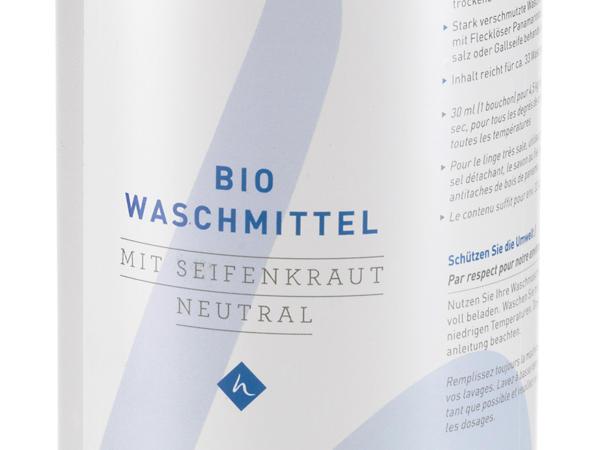 Bio-Waschmittel mit Seifenkraut
