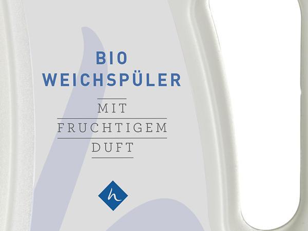 Bio-Weichspüler mit fruchtigem Duft