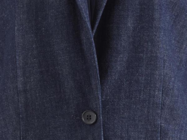 Blazer aus reiner Bio-Baumwolle