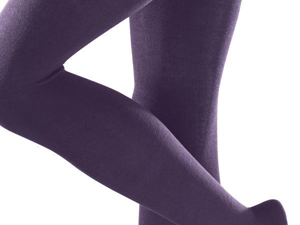Blickdichte Strumpfhose aus Bio-Baumwolle