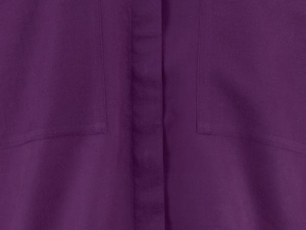 Bluse aus Bio-Baumwolle mit Seide