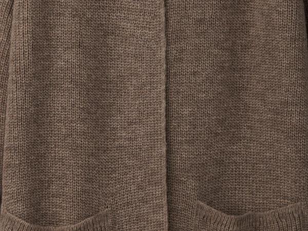 Cardigan made from pure alpaca