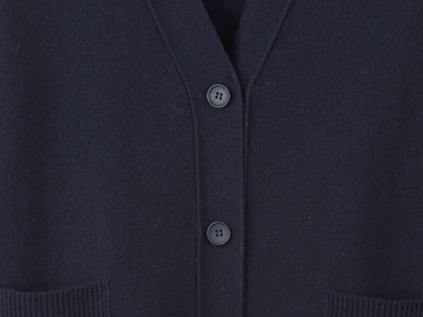 Cardigan made from pure lambswool