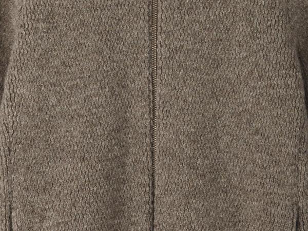 Cardigan made of rhön wool with alpaca