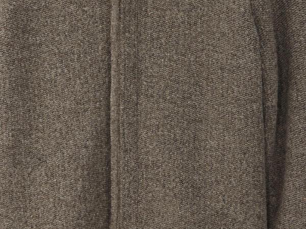 Cardigan made of rhön wool with organic cotton