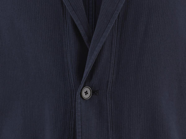 Casual jacket made of organic cotton with linen