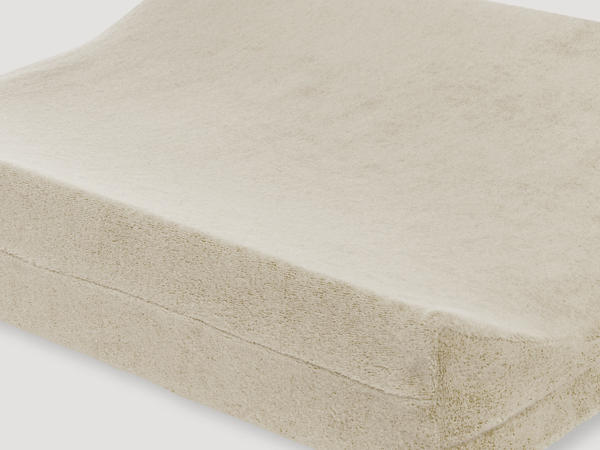 Changing mat cover made of pure organic cotton