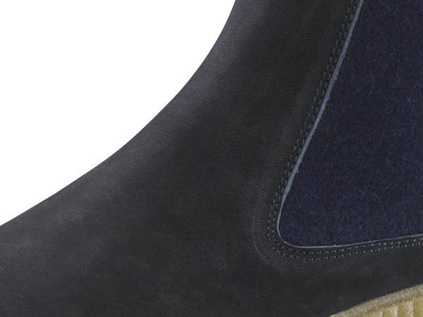 Chelsea Boots aus chromfrei gegerbtem Leder