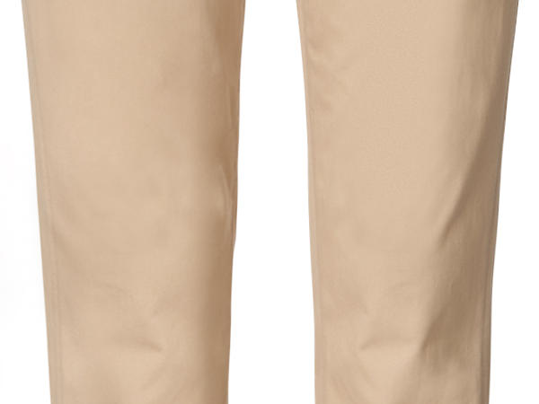 Chino Regular Fit aus reiner Bio-Baumwolle