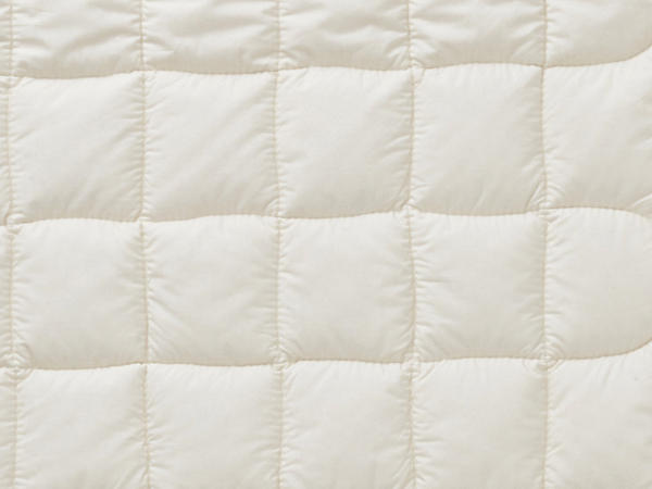 Comfort underbed made from pure organic cotton