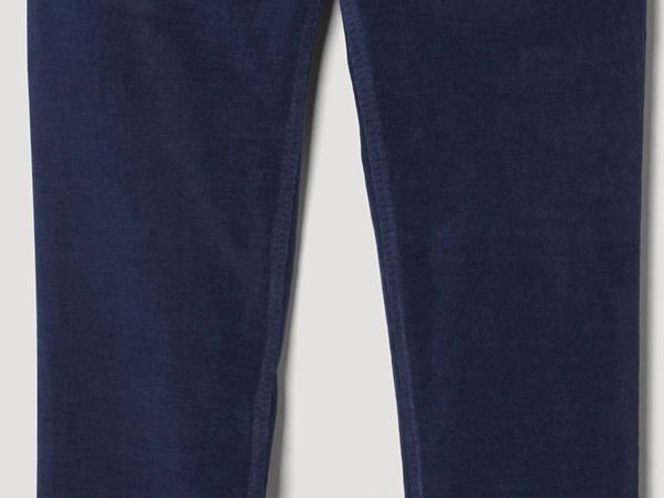Cord Hose Slim Fit aus Bio-Baumwolle mit Hanf