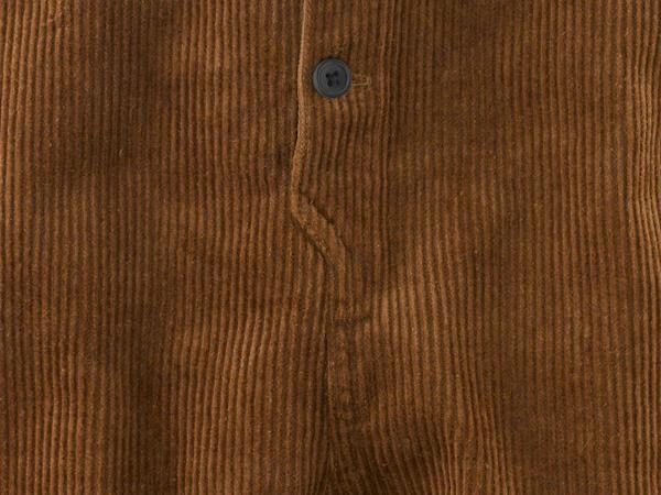 Cord-Latzhose aus Bio-Baumwolle mit Hanf