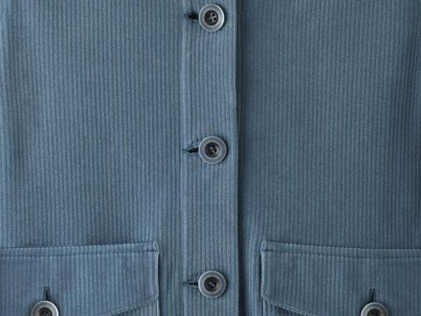Cord-Overshirt aus reiner Bio-Baumwolle