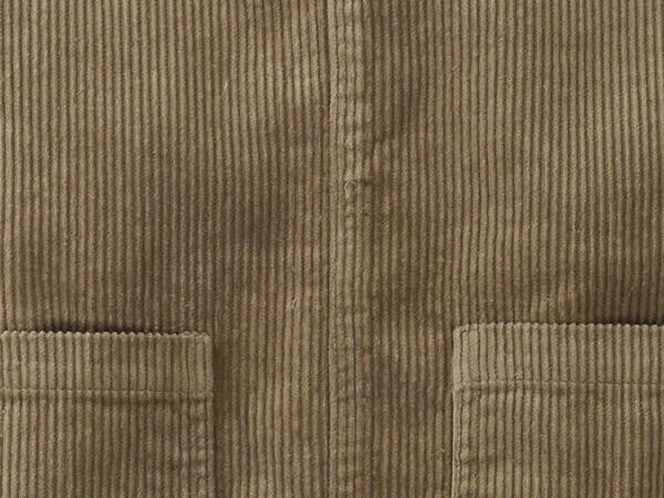 Cord dress made of hemp with organic cotton