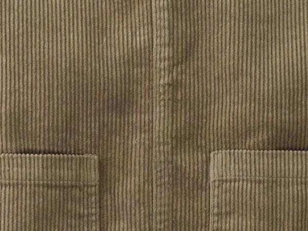 Cordkleid aus Hanf mit Bio-Baumwolle