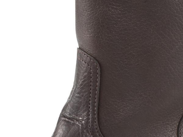 Damen Biker-Stiefel aus Leder