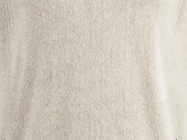 Damen Fleece-Troyer aus reiner Bio-Baumwolle