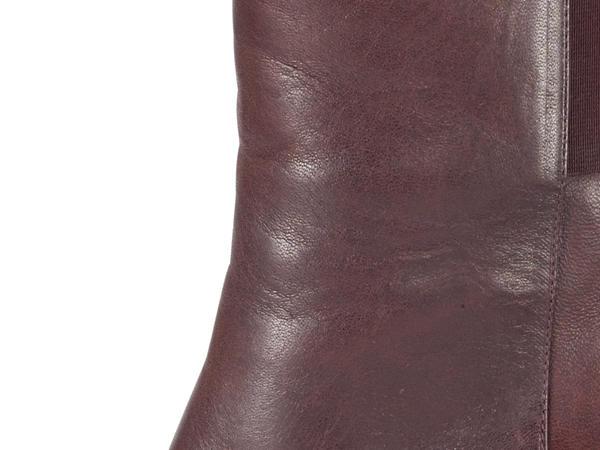 Damen Leder-Stiefel