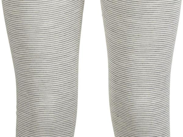 Damen Leggings PureSTRIPES aus Bio-Merinowolle und Seide
