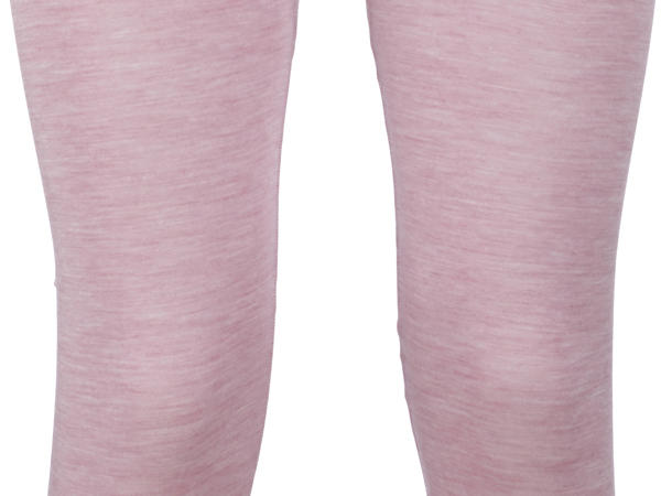 Damen Leggings PureWOMAN aus Bio-Merinowolle mit Seide