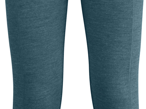 Damen Leggings aus Schurwolle mit Baumwolle und Elasthan