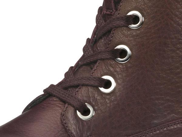 Damen Schnürstiefelette aus Leder
