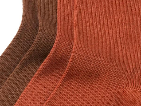 Damen Socke im 2er Pack aus Bio-Baumwolle