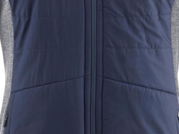 Damen Stepp-Jacke aus Bio-Merinowolle mit Bio-Baumwolle