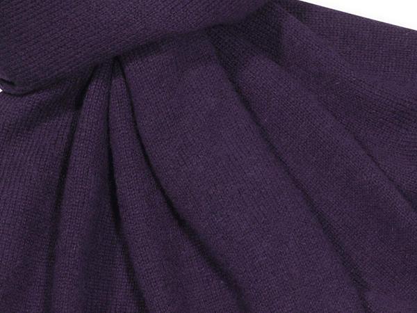 Damen Strickschal aus Schurwolle mit Kaschmir