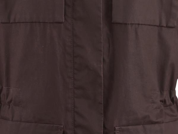 Damen Wachsjacke aus reiner Bio-Baumwolle