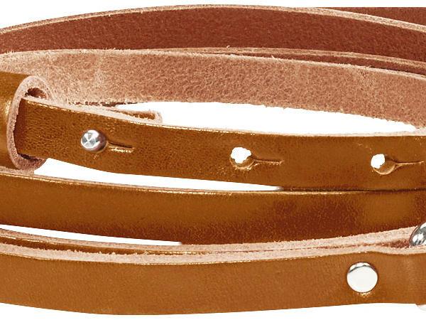 Damen Wickel-Gürtel aus Leder