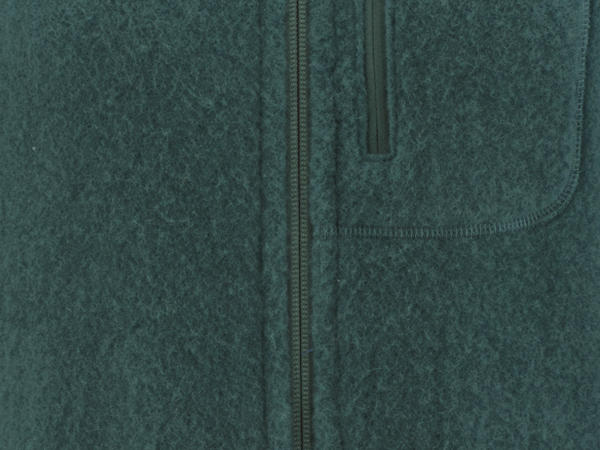 Damen Wollfleece-Weste aus reiner Bio-Merinowolle