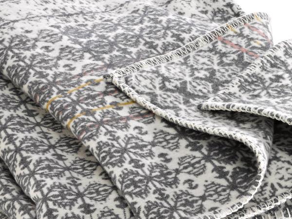 Decke Lillesand aus reiner Bio-Baumwolle
