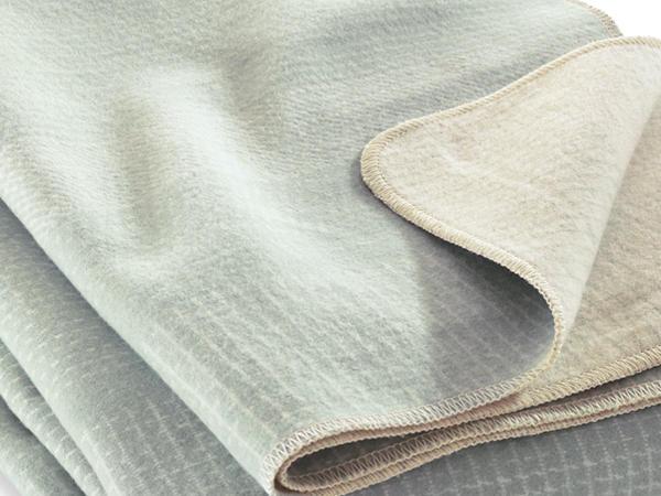 Decke Varjo aus reiner Bio-Baumwolle
