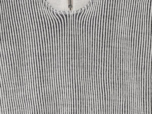 Doubleknit-Troyer aus Schurwolle und Bio-Baumwolle