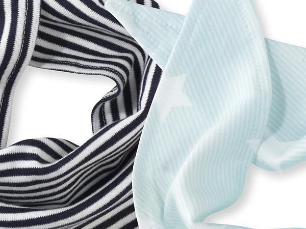 Dreieckstuch aus reiner Bio-Baumwolle 2er-Set