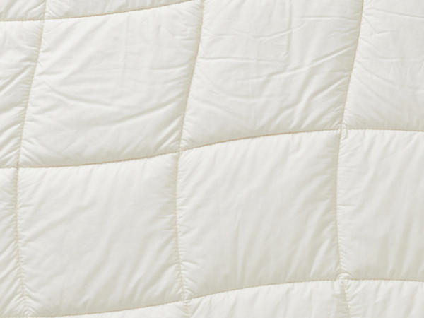 Duo blanket made of pure organic cotton