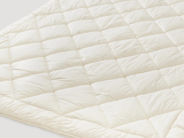 Duo duvet with pure organic new wool