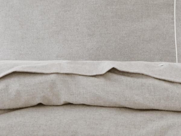Edelflanell-Bettwäsche St. Moritz aus reiner Bio-Baumwolle