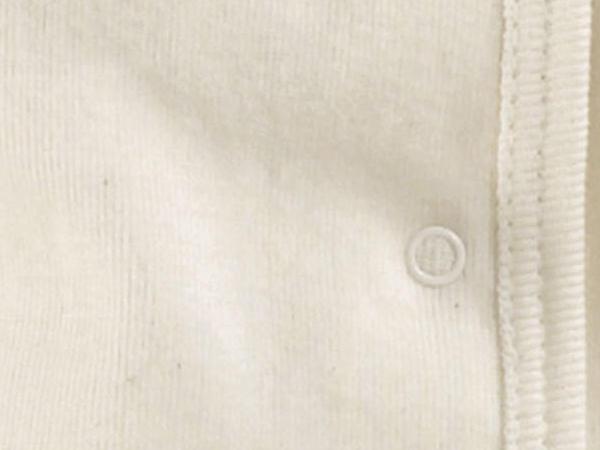 Erstlingsbody aus reiner Bio-Baumwolle