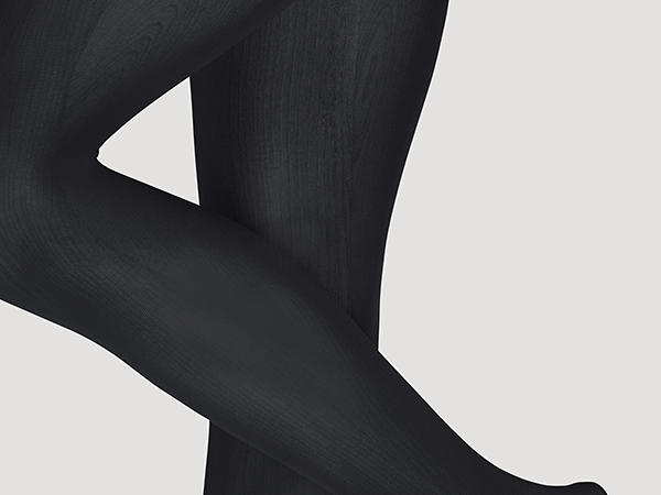 Fine tights made of organic cotton