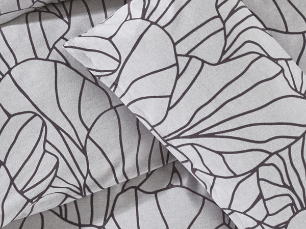 Flanell-Bettwäsche Flasoni aus reiner Bio-Baumwolle