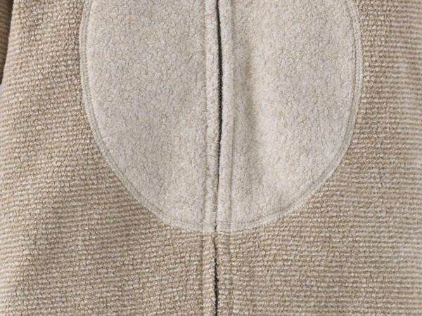 Fleece overall made from pure organic cotton