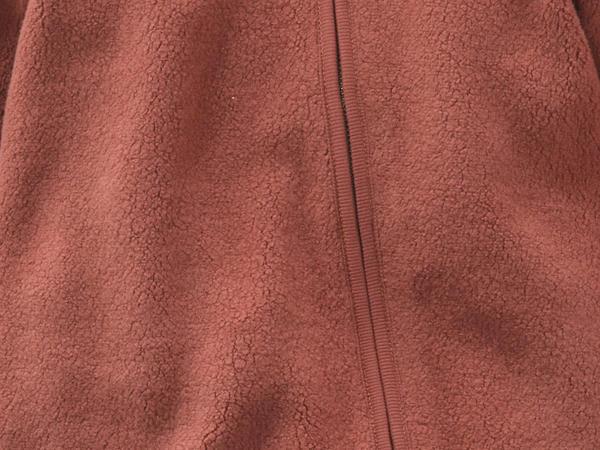 Fleece overall made of pure organic cotton