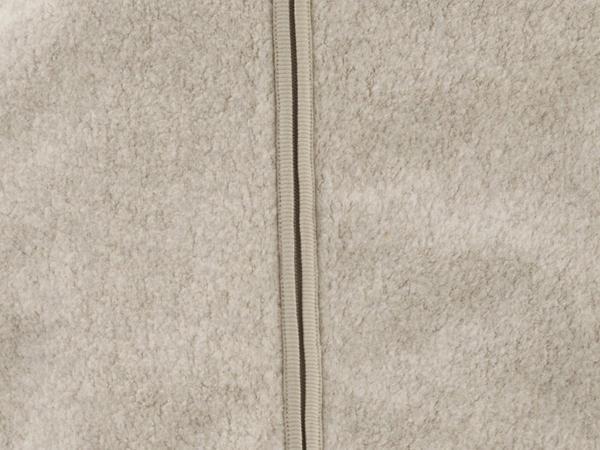 Fleece sleeping bag made from pure organic cotton