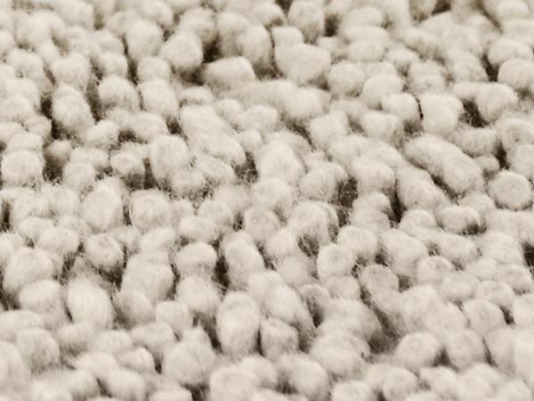 Flor-Teppich Rhönschaf aus reiner Schurwolle