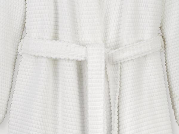 Frottier-Bademantel supersoft aus reiner Bio-Baumwolle